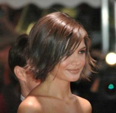 katie holmes face layered hair 15 best of katie holmes short bob hairstyles