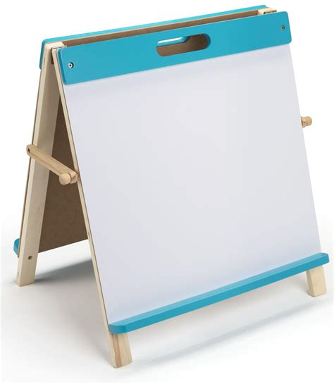 best easel for toddlers kids table easel blue finish