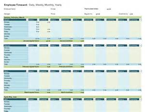 Timecard Template Excel by Employee Timecard Office Templates
