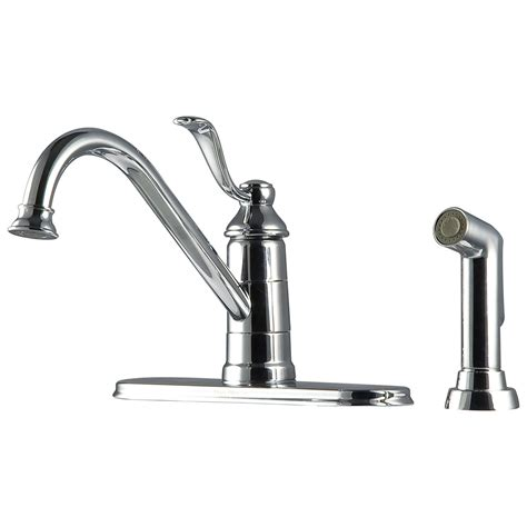 Kitchen Faucet Supply Lines Bath4all Pfister Gt344py0 Parisa Kitchen Faucet With Flex Line Supply Lines