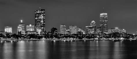 skyline wallpaper black and white boston skyline wallpaper black and white www imgkid com