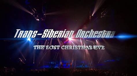 lost trans siberian orchestra trans siberian orchestra the lost