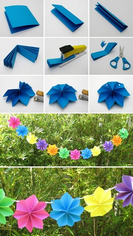 Diy Paper Home Decor by Wonderful Diy Paper Decoration For Party