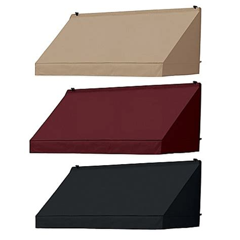 awnings in a box coolaroo 174 classic awning in a box 174 bed bath beyond