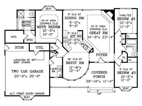 perfect house plans retired couple finds perfect floor plan the house designers