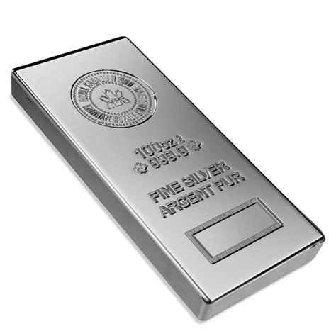 10 Oz Silver Bar Price Canada - 100 oz silver bars buy silver bars u s money reserve