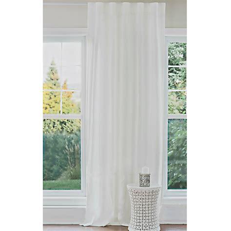 rideau en blanc 5529 rideau en blanc pur cie tissu en