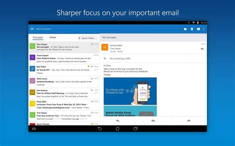 outlook android app microsoft rolls out big update for outlook for android app improves mail composing