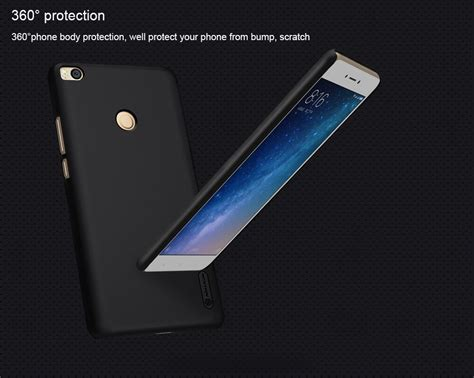 Hardcase Nillkin Xiaomi Mi Max 2 nillkin frosted shield back for xiaomi mi max 2 black price in us united states