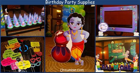themes of krishna birthday party supplies in vizag image inspiration of
