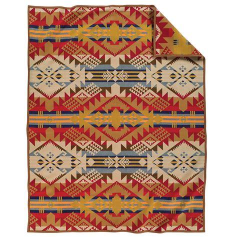 American Blanket Designs by Pendleton Journey West Blanket Made In Oregon