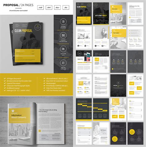 document layout pinterest multipurpose design business proposal template jpg 850