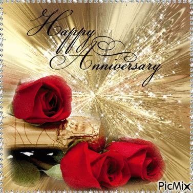 Happy Anniversary Rose Gif Pictures, Photos, and Images