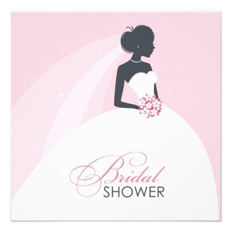 bridal shower invitations bridal shower postcard