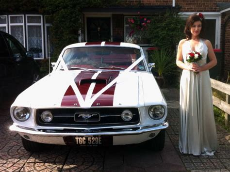 mustang wedding 1967 v8 mustang fastback ford mustang wedding ford