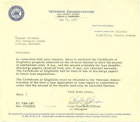 va certification letter certificate letter of qualification virginia letter sle