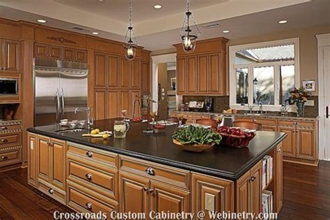 Kitchen With Maple Cabinets by Resort Collection Of Cherry Maple Kitchen Cabinets