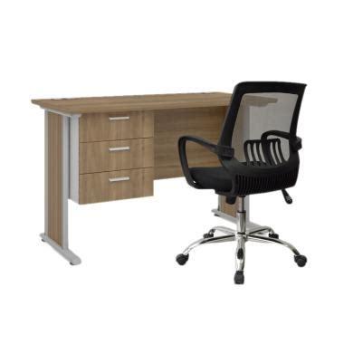 1 Set Meja Dan Kursi Kantor jual highpoint six01 far001 six office desk set meja