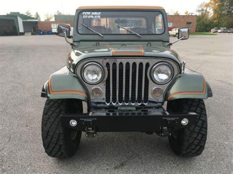 jeep scrambler hardtop 1984 jeep cj8 laredo scrambler new motor removable