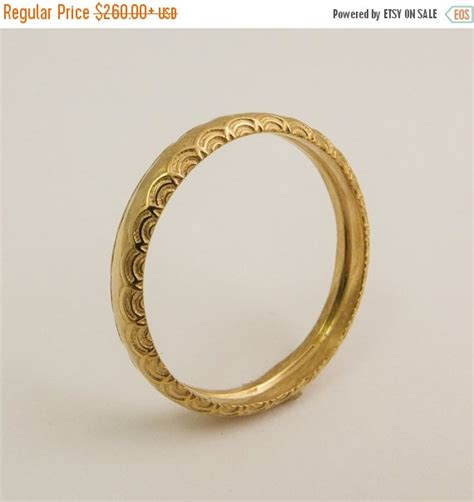pattern for gold rings on sale 14 karat gold simple wedding ring for women gold