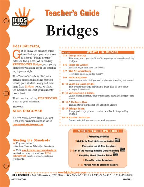 world building guide workbook books bridges discover