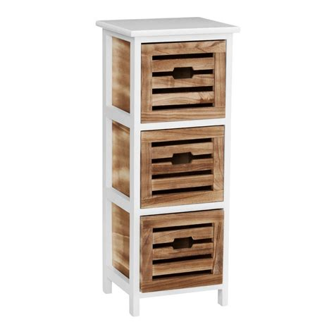 Mdf Drawers by Own This Bonsoni 3 Drawer Mdf Paulownia Wood Portsmouth