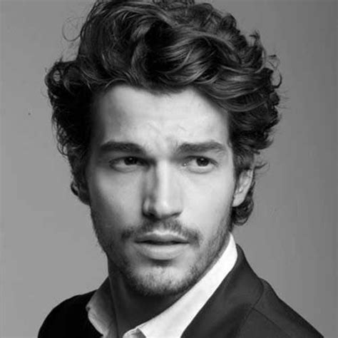 hairstyles for guys with super curly hair must see wavy hairstyles for men mens hairstyles 2018