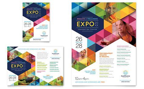 fair brochure template health fair flyer ad template design