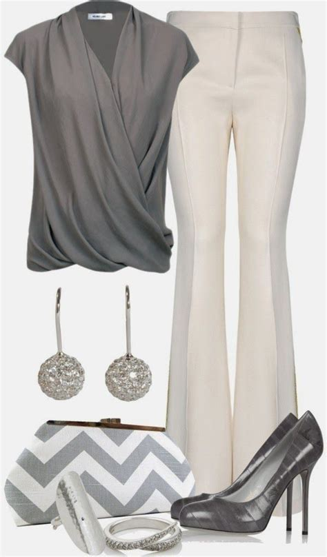 Cute Spring Polyvore Outfits to Wear to Work   All For