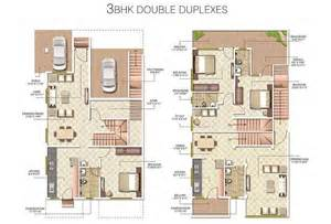 duplex row house floor plans floor plan radha madhav developers vrindavan at jamtha