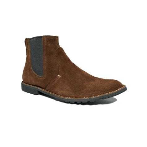 timberland chelsea boots mens timberland earthkeepers chelsea boots in brown for