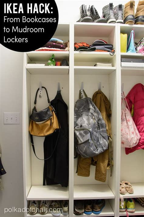 make your own mud room lockers the polkadot chair make your own mud room lockers the polkadot chair