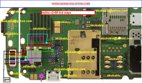 crime line for nokia c1 01 c2 00 2690 128 215 160 nokia c2 00 display line gsm repairing image