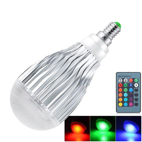 dimmbare led dimmbare e27 e26 e14 rgb birne led licht 5 10w farbwechsel