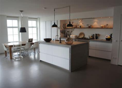 keuken vloer keukenvloer design gietvloer
