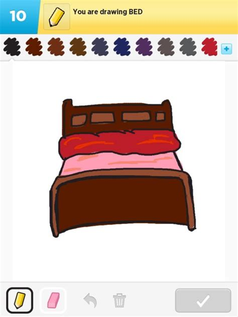 drawing of a bed bed drawings how to draw bed in draw something the best draw something drawings