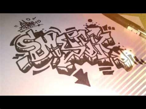 youtube membuat graffiti cara membuat graffiti di kertas bagi pemula the expert