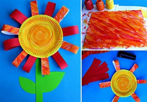 Blumen Basteln Kindergarten