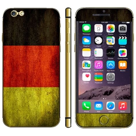 germany mobile phone germany flag pattern mobile phone decal stickers for
