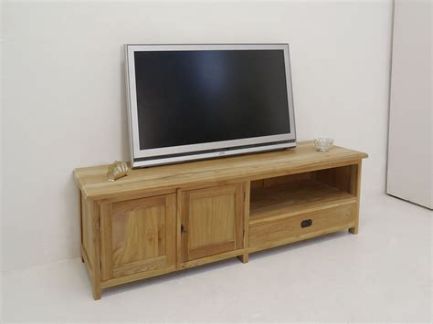 schrank 160 breit lowboard tv schrank fernsehtisch aus teakholz unbehandelt