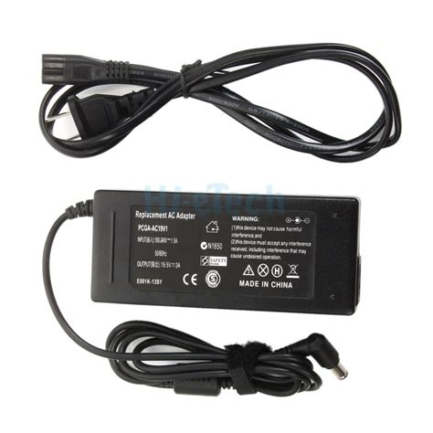Adaptor Charger Laptop Sony Vaio 19 5v 3 9a Original 100 6 0mm 19 5v ac dc adapter charger power cord supply for sony vaio pcga ac19v1 laptop ebay