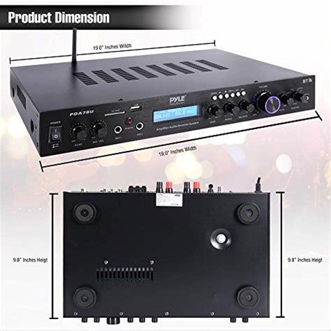 pyle pdabu  watt  channel digital usbaux fm radio
