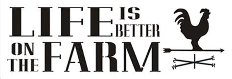 life     farm    stencil stencils diy