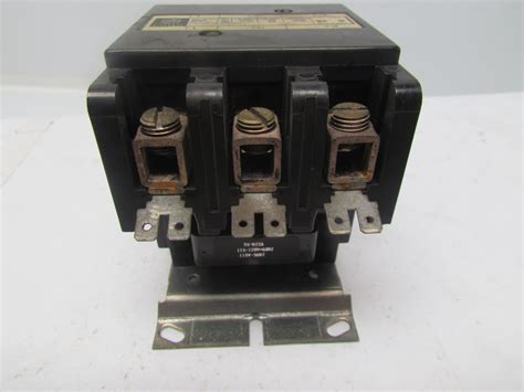 6 pole lighting contactor 120v coil ge general electric cr353eh3ba1 contactor 2 3 pole 90a 1