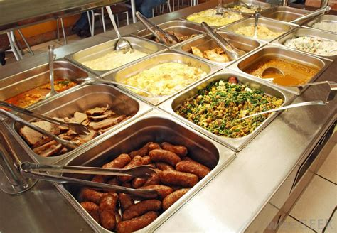 foods for buffets what are the different types of restaurant franchise
