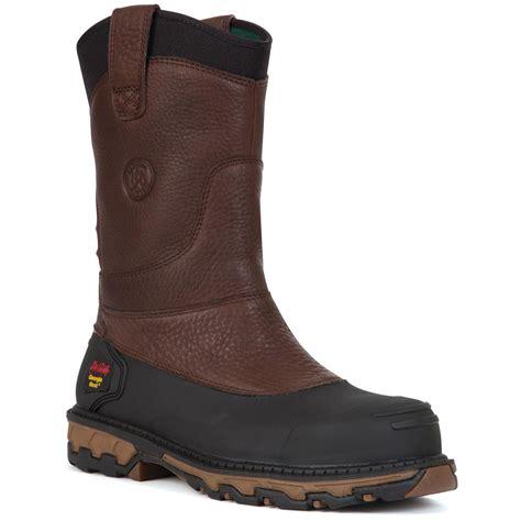 wellington steel toe boots s 174 muddog steel toe waterproof wellington