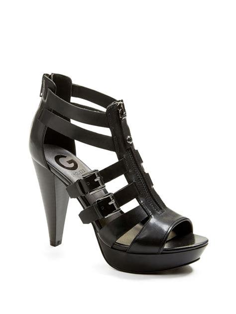 guess high heel sandals g by guess s huiza high heel sandals