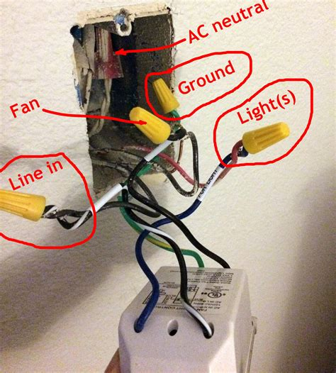 grounding a ceiling fan electrical rewire wall switch to an on switch for a