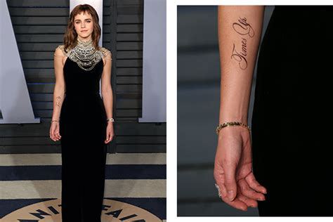does emma watson have a tattoo watson advertises for proof reader after oscar