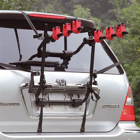 Vehicle Bike Racks by 3 Bicycle Bike Car Cycle Carrier Rack Hatchback Rear Mount